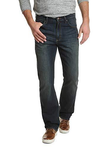 Wrangler Authentics Herren Premium Relaxed Fit Boot Cut Jeans, Dirt Road, 36W / 34L