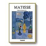 Pintura de la lona de la pared de la pintura de Matisse cartel moderno impresión del minimalismo arte de la pared pintura de la lona sin marco D9 50x70cm