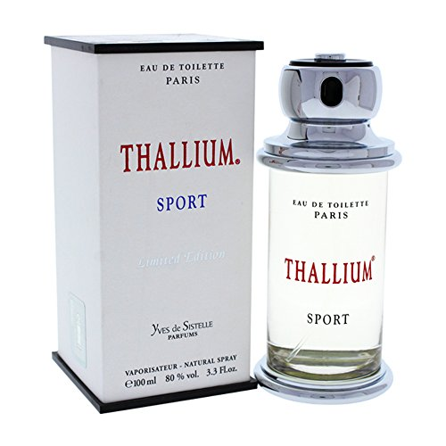 Yves de Sistelle Parfums Paris THALLIUM SPORT (Limited Edition) Eau de Toilette Vaporisateur Natural Spray 100 ml