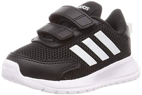 adidas Unisex Baby Tensaur Run Running Shoe, Core Black/Cloud White/Core Black, 18 EU