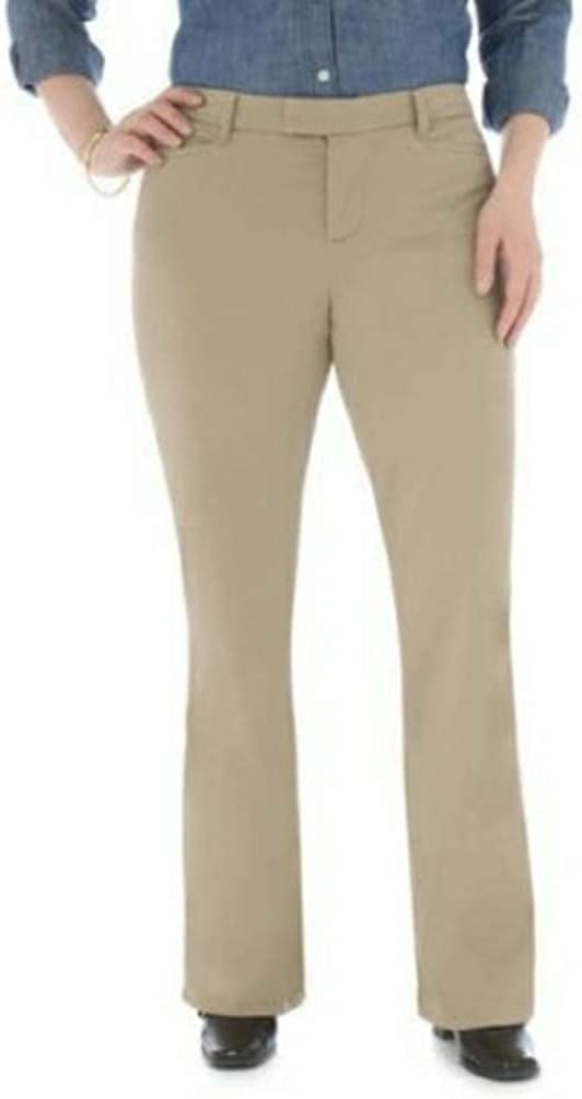LEE Riders Heavenly Touch Casual Pants Mid Rise Boot Cut