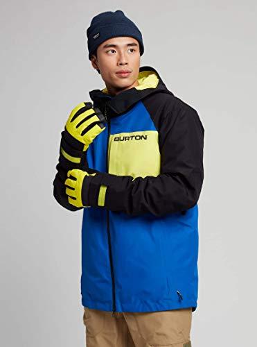 Burton - Chaqueta de esquí y snowboard para hombre (talla XXL), color blanco
