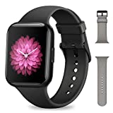 Smartwatch Uomo Donna, NAIXUES Orologio Fitness 1,54 Pollici Impermeabile IP68 Smart Watch Bluetooth Cardiofrequenzimetro da Polso Contapassi Calorie Smartband Activity Tracker per Android iOS (Nero)
