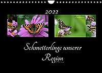 Schmetterlinge unserer Region (Wandkalender 2022 DIN A4 quer): Heimische Schmetterlinge Europas (Monatskalender, 14 Seiten )
