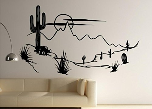 Scenery Decals Southwest Stickers Decor