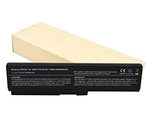 Batteria per Toshiba PA3817U-1BRS Pa3819U-1BRS Satellite C600 L640 L650 L650D L655 L700 L745 L755D M640 M645 P745 P755 P775(6celle 4400mAh)
