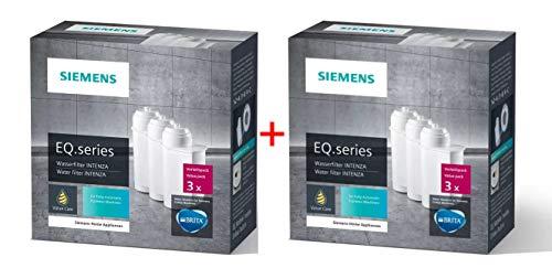 SIEMENS 6 x TZ70003 Wasserfilter Brita Intenza Filterpatrone für alle EQ Filter