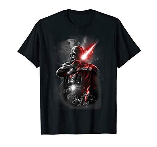 Star Wars Darth Vader Lightsaber Cross Body Portrait T-Shirt