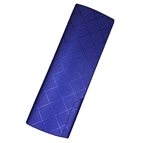 プルームテック プラス ケース (ひし型×ブルー) PloomTech Plus カバー スリム シンプル 無地 コンパクト キャリングケース
