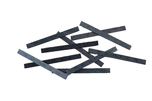 Slijpsteen Falcon SO siliciumcarbide grijs set met 5 stenen, 6x12x150 Grit 150, Metálico, 1000