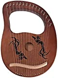 Immagine 2 xjyds lyre harp 16 string