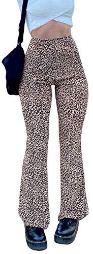 Women's Loose Zebra Print Striped Flared Pants High Waist Fashion Casual Pants Streetwear Sexy Sweatpants...