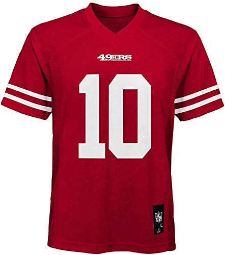 Outerstuff Jimmy Garoppolo San Francisco 49ers Red Infants Home Mid Tier Jersey (18 Months)