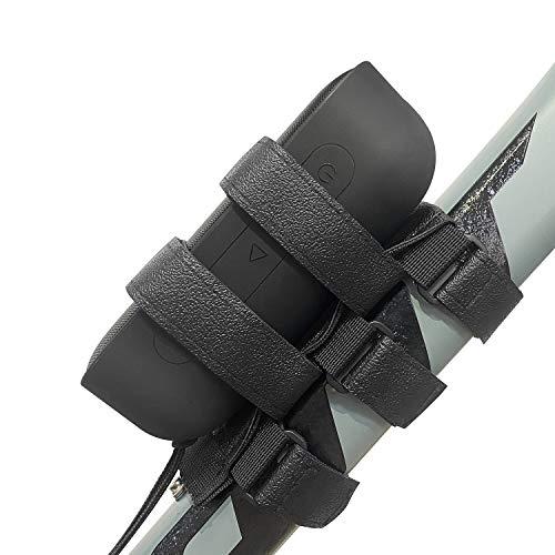 HomeMount Bike Speaker Mount, Waterproof Outdoor Adjustable Strap Accessories for Most Bicycle Portable Speaker
