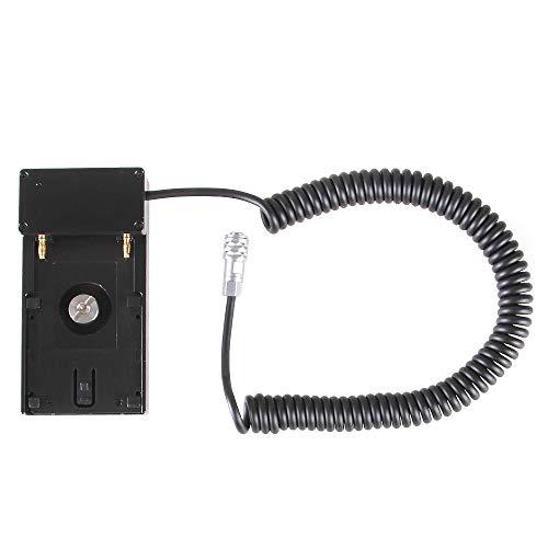 Soporte adaptador de batería, 12 V NPF para Blackmagic Pocket Cinema 4K, 6K, cámara BMPCC 4K/6K, compatible con batería Sony NP-F970, F960, F770, F750, F570, F550