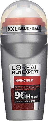 L 'Oréal Men Expert Invincible deodorant voor heren, zonder alcohol, 2 stuks
