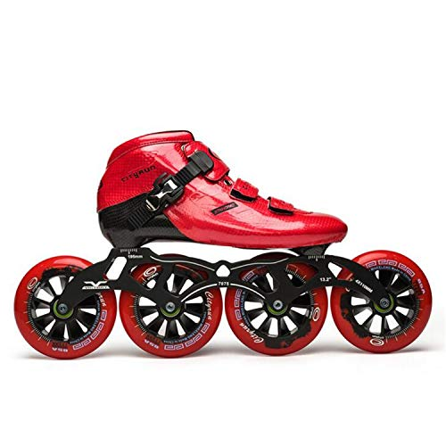 Great Deal! TTYY Professional Inline Speed Skates Carbon Inline Speed Skating Shoes Adults Child Inl...