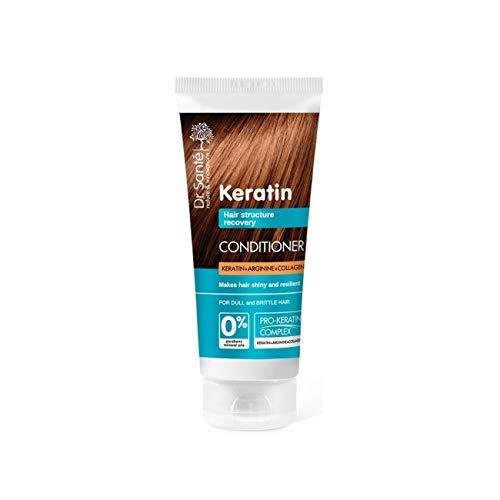 Dr. Santé Keratin Haarspülung Collagen und Arganine tief Regeneration 200ml 0% Parabenen und Mineralölen