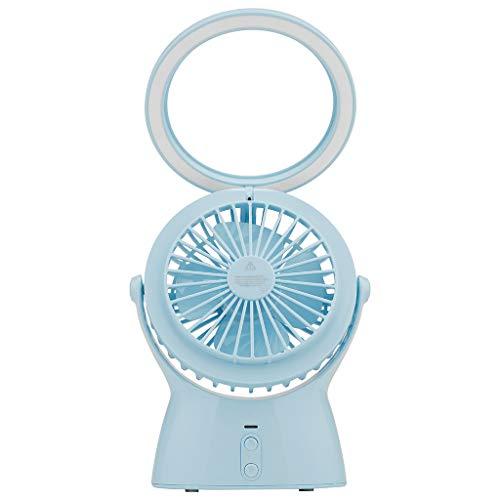 ファンハンドヘルドUSB小型LEDデスクランプポータブルポータブル屋外旅行冷却ミニサマーミュート加湿器