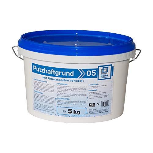 Putzhaftgrund PG5 Quarzsand Grundierung Putzgrund 5kg Quarzgrund