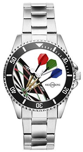 KIESENBERG - Geschenk für Dart Darts Dartspieler Fan Uhr 2003