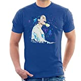 VINTRO Alicia Keys - Camiseta para hombre, diseño de Alicia Keys Azul azul cobalto M