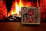 Feuerzangentasse Geschenkset rot - Schatzkiste
