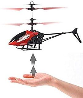 طائرة هيلوكوبتر صغيرة بالاشعة تحت الحمراء عن طريق الحث باليد بدون ريموت كنترول