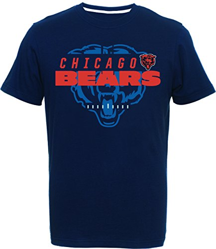 Majestic NFL Chicago Bears T-Shirt Tee Football Great Value (L)