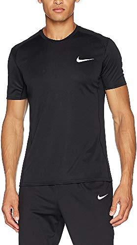 Men's Nike Dry Miler Running Top Black Size Small