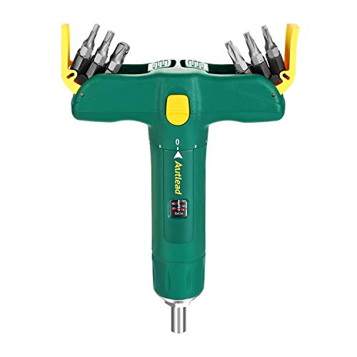 AUTLEAD Torque Screwdriver, Wider Range 15 to 75 Inch Pounds in 1 Increment, 12 Bits Included, Firearm Accurizing, Scope Mounting, Bike Repairing - ATSD01