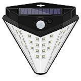 36 Luces de Seguridad solares LED al Aire Libre, Luces de Sensor de Movimiento Solar 200º Único ángulo Luces Impermeables para la Cerca del jardín Puerta de la puert