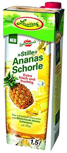 Lausitzer Stille Schorlen - Stille Ananas Schorle (8 x1,5 l)