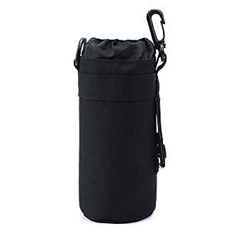 TEGOOL Water Bottle Sleeve Bag Bottle Holder Tactical Water Bottle Pouch  Black