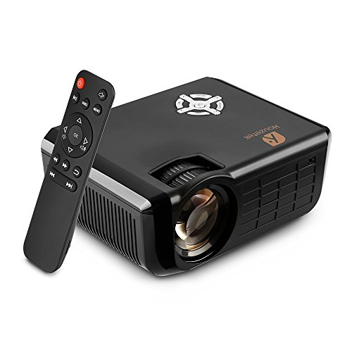 Video Projector, Houzetek 2500 Lumens Multimedia Home Theater Video Projector...