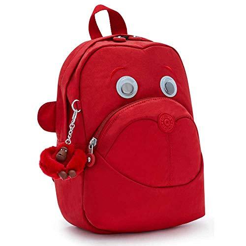 Kipling Backpacks Faster Cherry Tonal