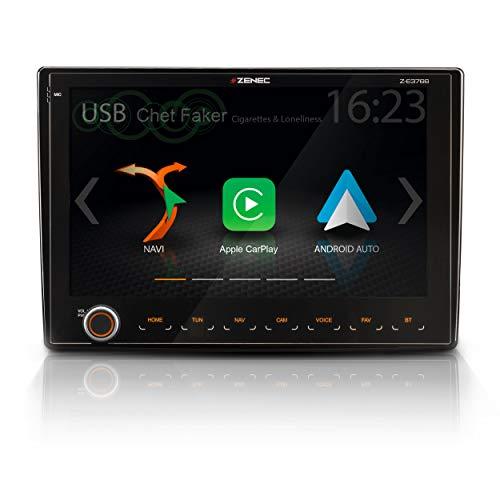 """ZENEC Z-E3766: Infotainer für FIAT Ducato mit Android Auto, AppleCarPlay, 2 Din Mediencenter mit 9""""/22,9 cm Touchscreen, Autoradio mit DAB+, USB, zum Reisemobil Navi erweiterbar"""