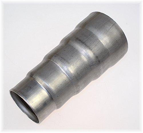 1 Stück Auspuff Reduzierungsstück 50-55-60-65-70mm 5fach abgestuft V2A Edelstahl