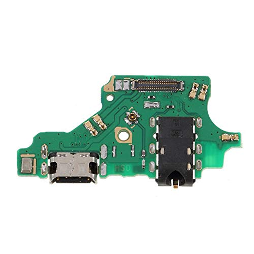 OnlyTech – interne schakeling met aansluiting voor USB-oplader, jackplug en microfoon van de Huawei P20 Lite – reserveonderdeel compatibel met Huawei
