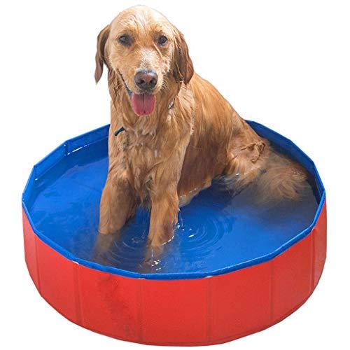 Sdyy Big Dog Badewanne, Golden Retriever-Badebottich Folding Schwimmbad Haustier Tub Großer Hundebedarf Dog Tub