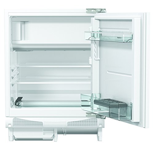 Gorenje RBIU 6092 AW Unterbaufähiger Kühlschrank mit Gefrierfach / Höhe 82 cm / Kühlen: 109 L / Gefrieren: 21 L / weiß