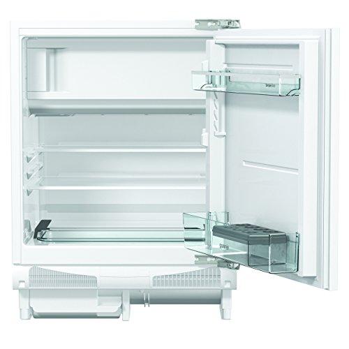 Gorenje RBIU 6092 AW Unterbaufähiger Kühlschrank mit Gefrierfach / A++ / Höhe 82 cm / Kühlen: 109 L / Gefrieren: 21 L / weiß