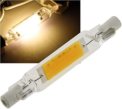 LED Stab Strahler R7s Fassung 5Watt 78mm 360° Abstrahlwinkel 2900k / Warmweiß
