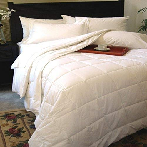 Natural Comfort Classic White Down Alternative Comforter or Blanket Year Round Filled, Twin