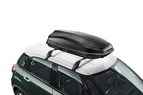 FCA Dachbox 360 Liter für 500 L und 500 X aus ABS-Kunststoff, hohe Qualität, Original 71807693