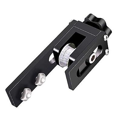 UniTak3D X axis Belt Tensioner Upgrades for Ender 3,Ender 3 pro,CR 10,CR 10S,Tronxy X3 3D Printers(Black)