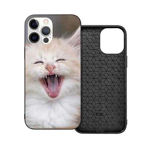 Funda de protección compatible con iPhone 12 / iPhone 12 Pro Animal Animal Animal Animal Animal Animal Gatito Gatito Mascota Teléfono Casos Funda Suave Silicona TPU