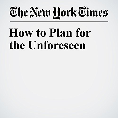 How to Plan for the Unforeseen | Paul Sullivan