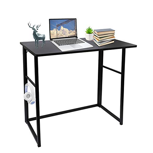 escritorio blanco pequeño de la marca Hopeson
