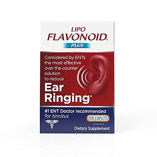 Lipo-Flavonoid Plus Ear Health Supplement | 100 Caplets | #1 ENT...
